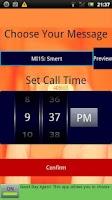 Screenshot of Secret Agent Fake Call