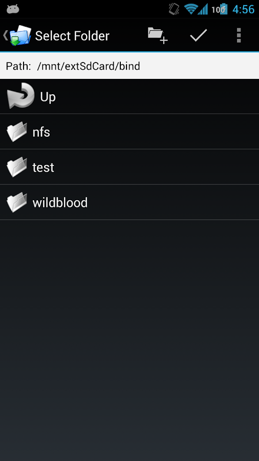 FolderMount [ROOT] - screenshot