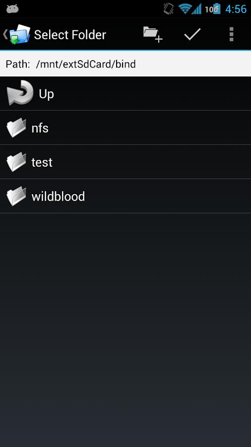 FolderMount [ROOT] - screenshot