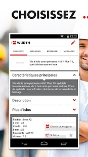 Würth - Clic & Shop- screenshot thumbnail
