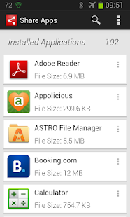 Share Apps- screenshot thumbnail