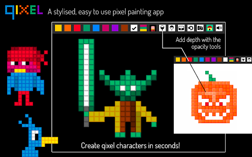 Qixel : Pixel Art Painter