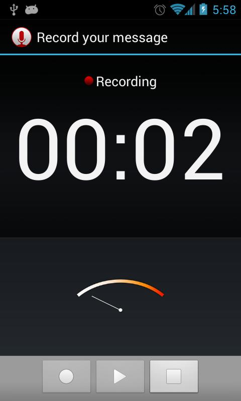 Sound Recorder Shortcut- screenshot