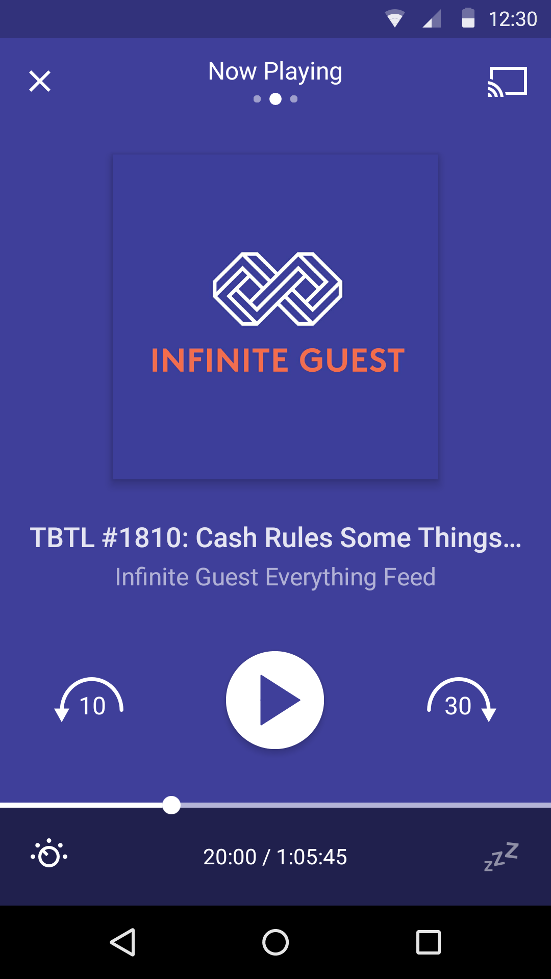 Pocket Casts screenshot #2