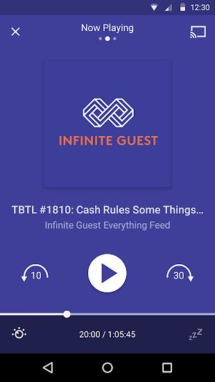 Pocket Casts- screenshot thumbnail