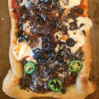 The Cowboy Elk Pizza