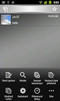 Screenshot of Handcent SMS Czech Language Pa