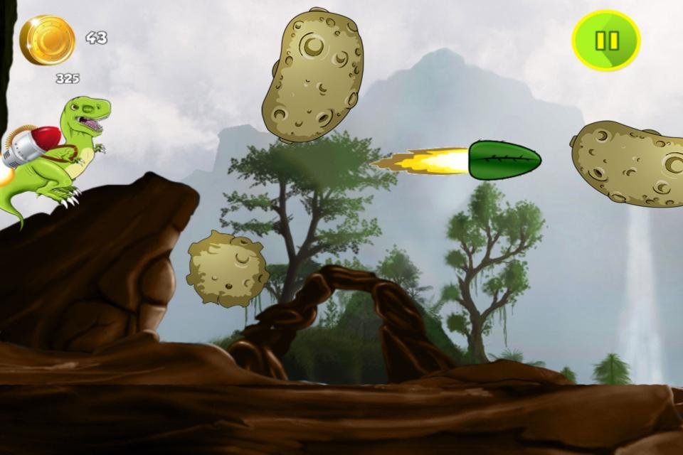 Jetpack Dinosaur- screenshot