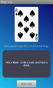 King's Cup - Drinking Game- screenshot thumbnail