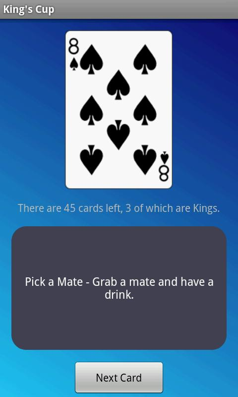 King's Cup - Drinking Game- screenshot