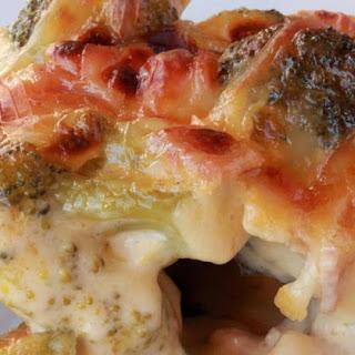 "Broccoli, Ham and Dijon ""Au Gratin"""