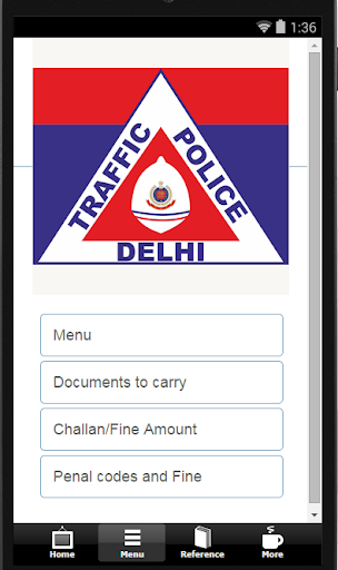 Delhi traffic Fines