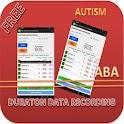 Autism ABA Datasheets:Duration icon