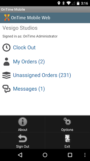 OnTime Mobile for Android