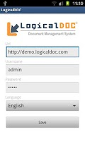 Screenshot of LogicalDOC