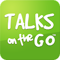 TALKS on the GO logo