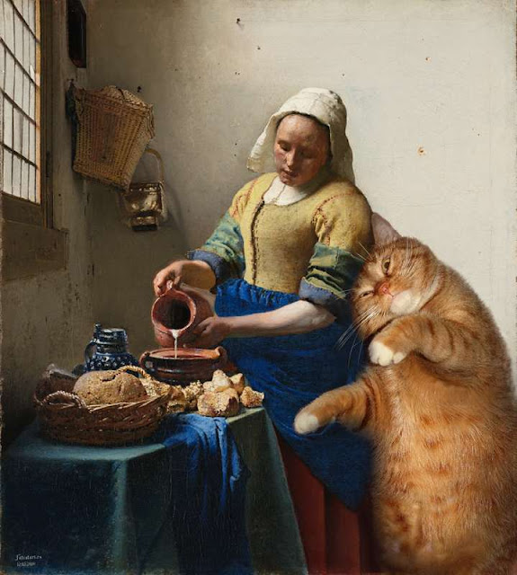 The Milkmaid and the Cat