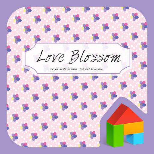 love blossom 도돌런처 테마 個人化 App LOGO-APP試玩