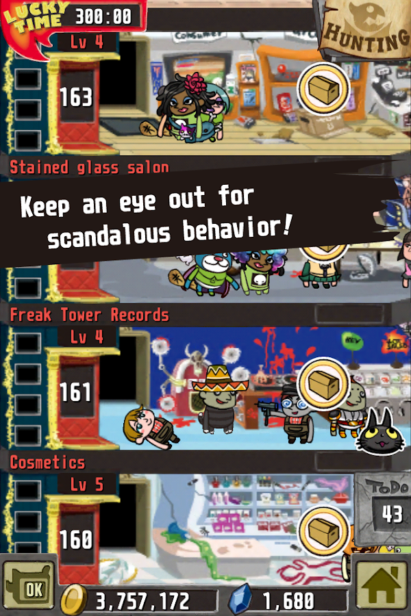 Freak Tower (English) - screenshot