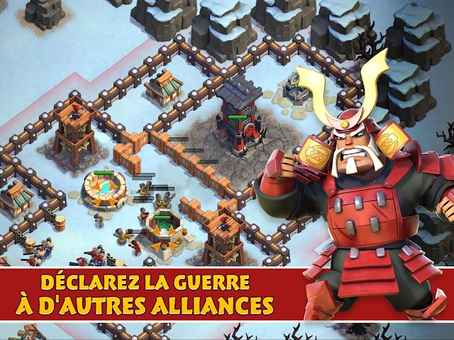 android Samurai Siege: Alliance Wars Screenshot 1