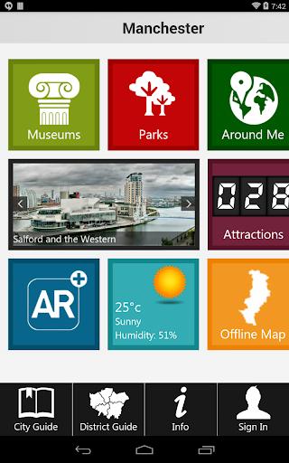 【免費旅遊App】Manchester Travel Guide-APP點子