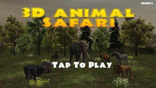 3D Animal Safari Game For Kids