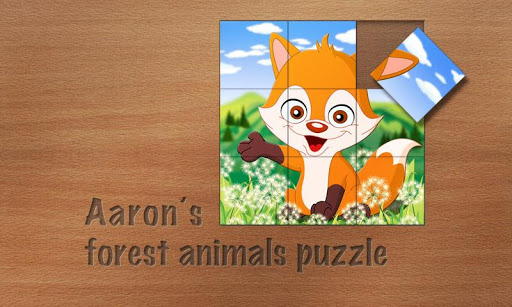 Aaron's Forest Animals Puzzle