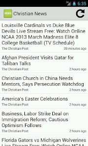 Christian News screenshot 0
