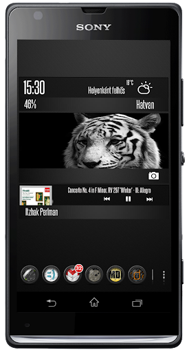 Black Tiger Zooper theme