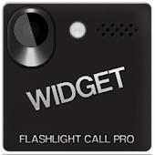 Flashlight Call widget
