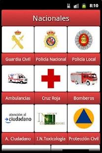 Teléfonos de Emergencias- screenshot thumbnail