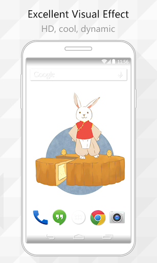 Rabbit Dance Live Wallpaper