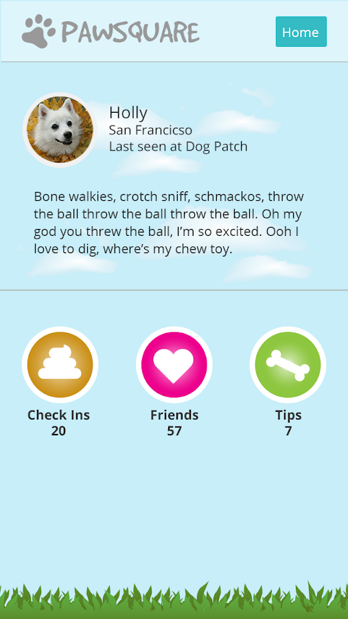 Pawsquare- screenshot