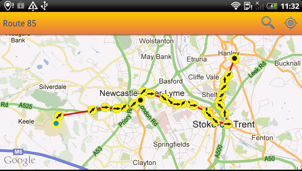 UK Bus Times Live: Bus Scout - screenshot