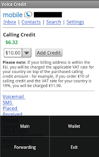 Add Credit to Google Voice