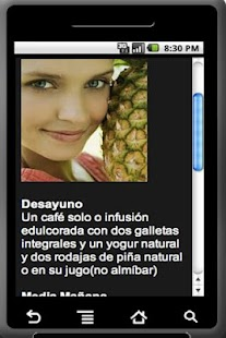 Dieta de la Piña - screenshot thumbnail