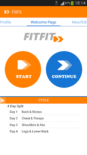 FitFit - Gym Notebook