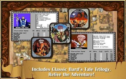 The Bard's Tale Screens