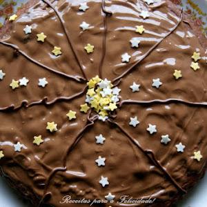 Chocolate Coffee Cake with Milk Chocolate Icing