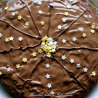 Chocolate Coffee Cake with Milk Chocolate Icing.
