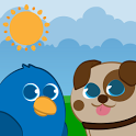 Funny Animals for babies Free icon