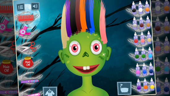 Halloween Hair Salon- screenshot thumbnail