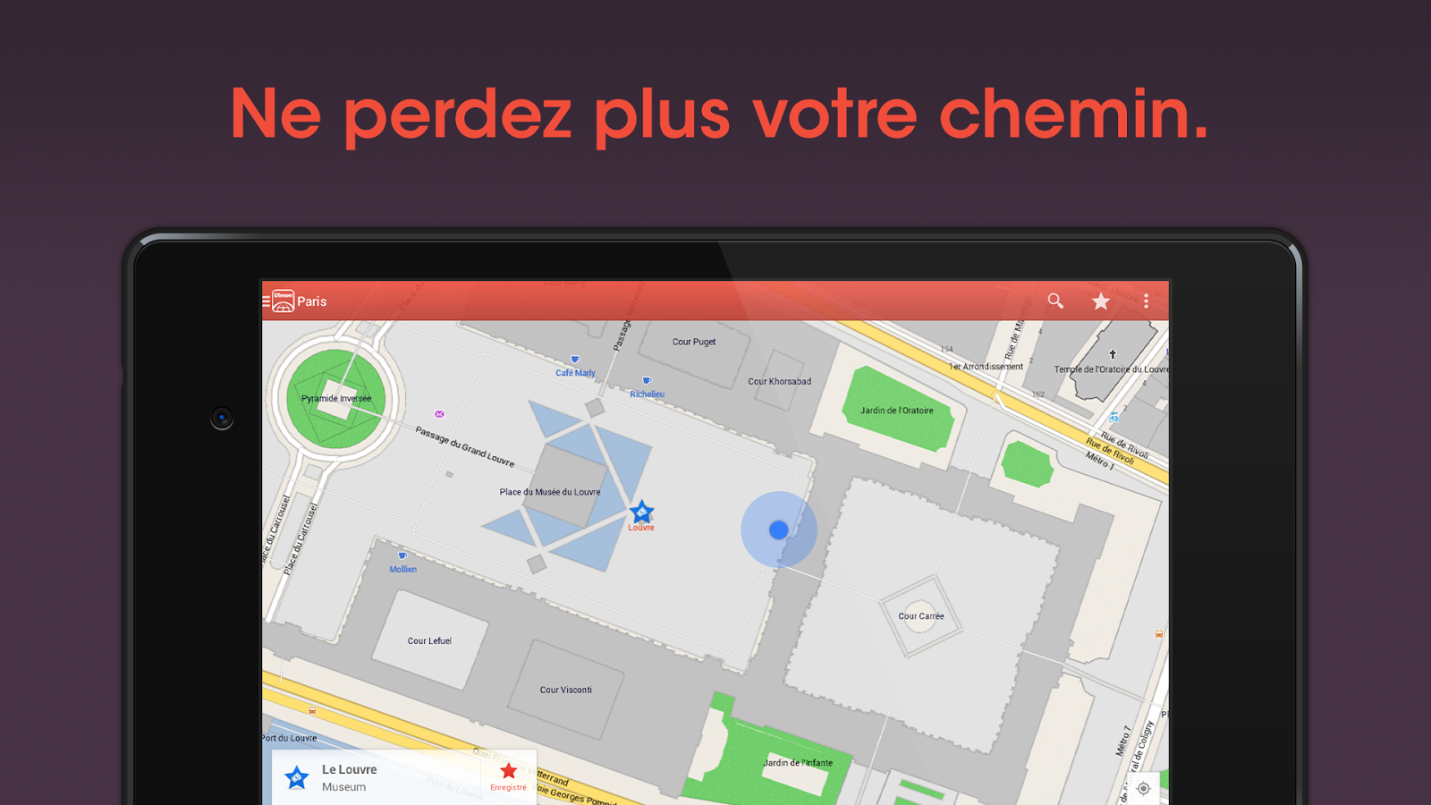 carte gps paris gratuite