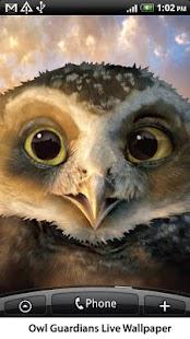 Owl Guardians Live Wallpaper- screenshot thumbnail