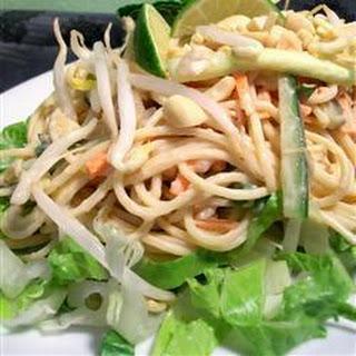 Thai Udon Noodle Salad