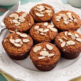 Gluten Free Almond Apricot Muffins