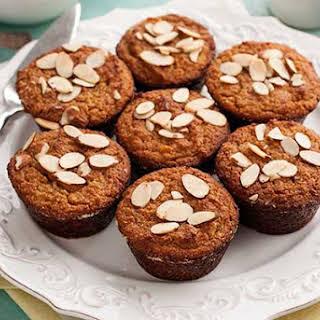 Gluten Free Almond Apricot Muffins.