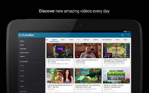 Dailymotion - screenshot thumbnail