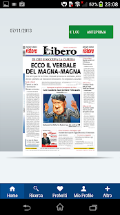 Libero Edicola Digitale- miniatura screenshot