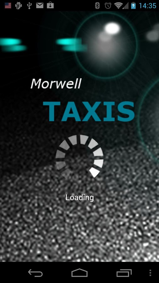 Morwell Taxis- screenshot